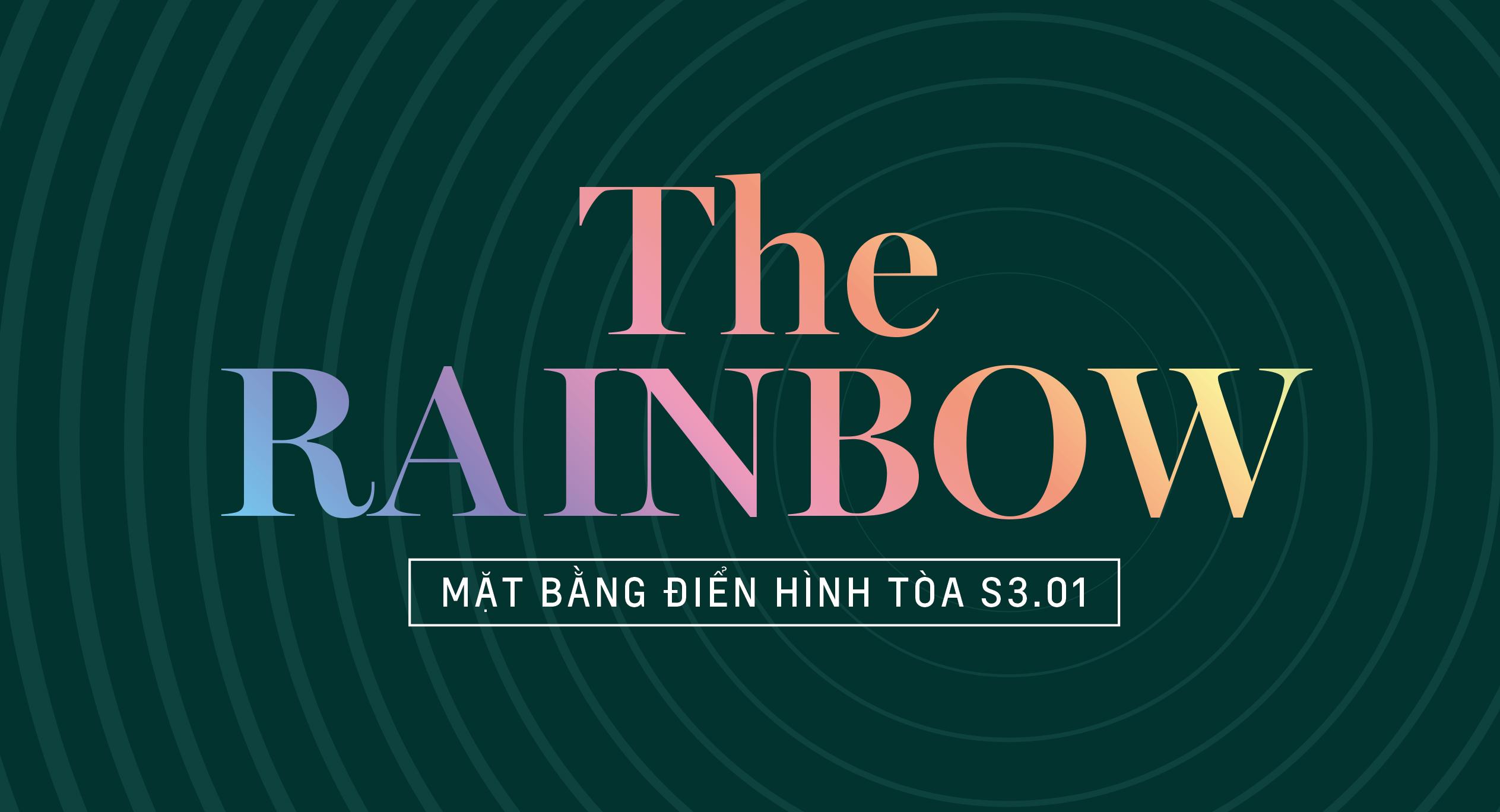 The Rainbow - Mặt bằng tòa S3.01